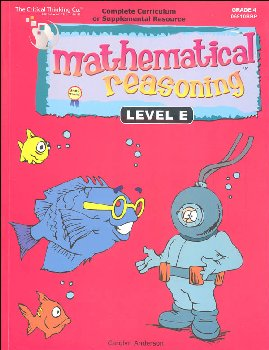 Mathematical Reasoning Level E (Gr. 4)