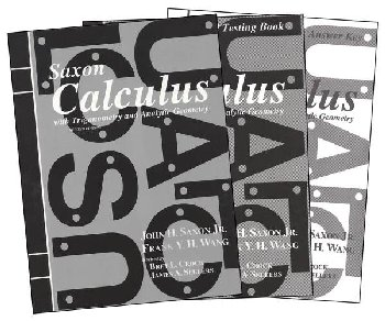 Saxon Calculus Homeschool Kit (2nd Edition)