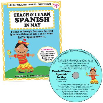Teach & Learn Spanish in May (Book & CD)