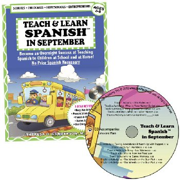 Teach & Learn Spanish in September (Book & CD)