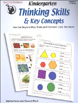 Kindergarten Thinking Skills & Key Concepts Student Book