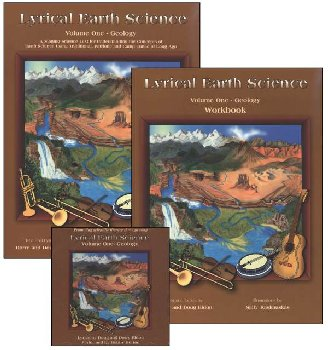 Lyrical Earth Science Volume 1 Geology Text, CD and Workbook