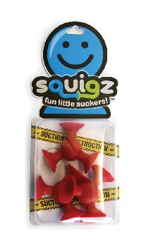 Squigz - Gobnob - Add on Set of 3 (Red)