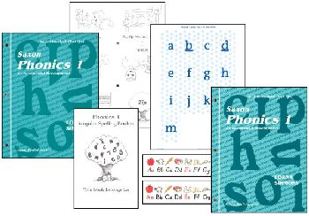 Saxon Phonics Program 1 Student Only