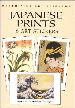 Japanese Prints 16 Art Stickers