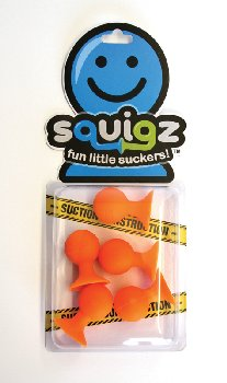 Squigz - Pip - Add on Set of 5 (Orange)