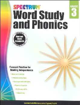 Spectrum Word Study and Phonics 2015 Grade 3