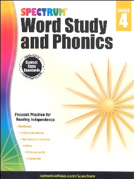 Spectrum Word Study and Phonics 2015 Grade 4