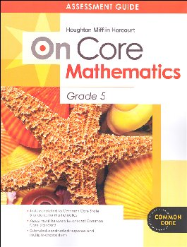 On Core Mathematics Student Assessment Guide Grade 5