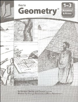 Key to Geometry Answers & Notes Books 1-3