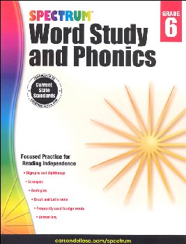 Spectrum Word Study and Phonics 2015 Grade 6