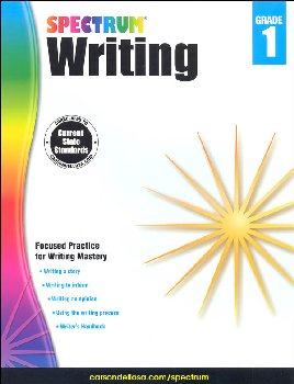 Spectrum Writing 2015 Grade 1