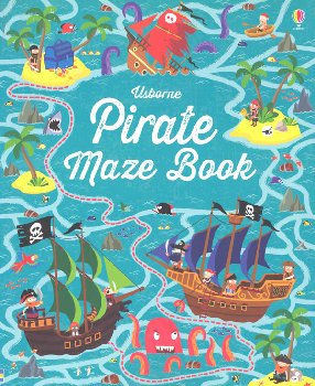 Pirate Maze Book (Usborne)