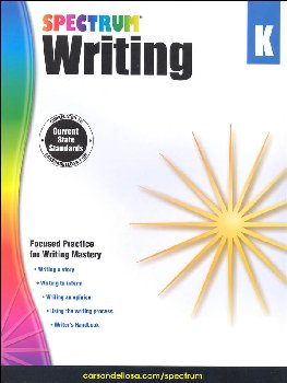 Spectrum Writing 2015 Grade K