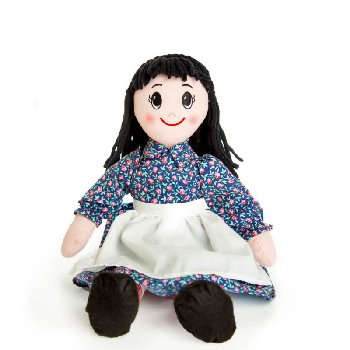 "Charlotte Rag Doll 18"" (Little House Dolls & Accessories)"
