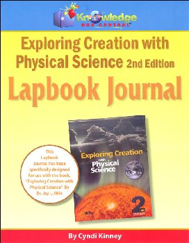 Apologia Exploring Creation with Physical Science 2nd Edition Lapbook Journal Printed