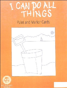 I Can Do All Things Marker and Paint Cards 2nd Edition