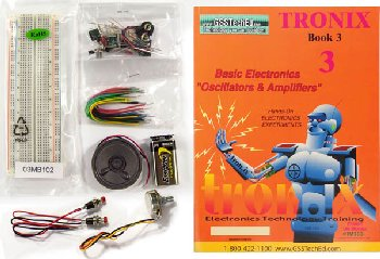 Fundamentals of Electronics Tronix 3 Lab Manual and Kit