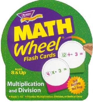 Math Wheel Multiplication / Division Flash Cards