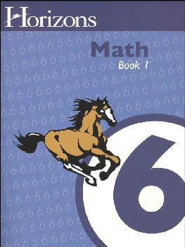 Horizons Math 6 Workbook One