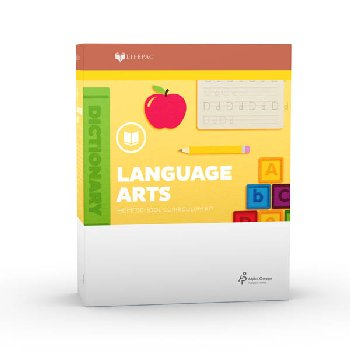 Language Arts 1 Lifepac Complete Boxed Set