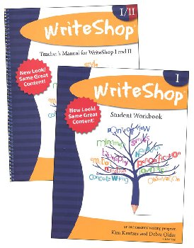WriteShop: Incremental Writing Program Set (Teacher Manual and Workbook 1)