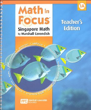 Math in Focus Grade 1 Teachers Edition Book A 1st Semester
