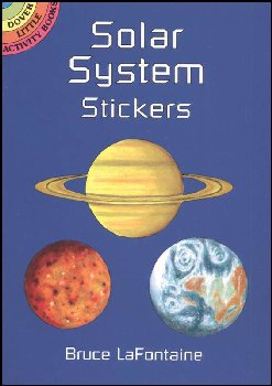 Solar System Realistic Stickers