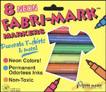 Fabric Fun Markers - Neon