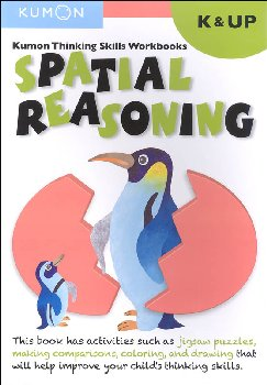 Kumon Thinking Skills Workbook - Spatial Reasoning (Kindergarten & Up)
