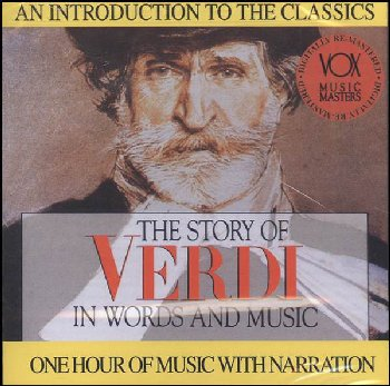 Story of Verdi in Words and Music CD