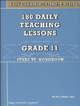 Easy Grammar Ultimate Series Grade 11 Student Workbook
