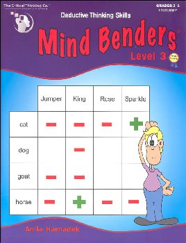 Mind Benders Book 3 (Deductive Thinking Skills)