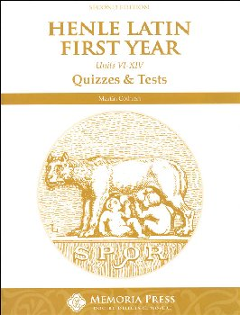Henle Latin I Quiz / Exam Packet (Units VI-XIV)