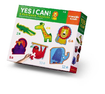Yes I Can! 6 Beginner Puzzles - Jungle