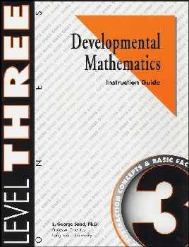 Developmental Math Level 3 Instruction Guide