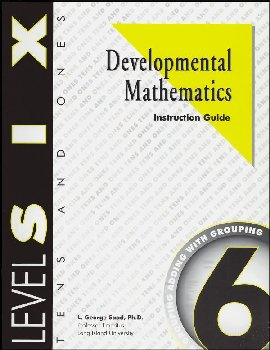 Developmental Math Level 6 Instruction Guide