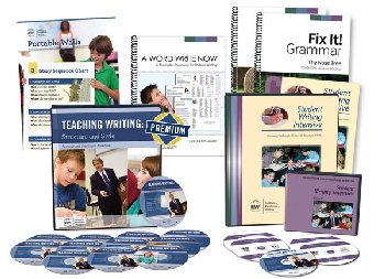 Deluxe Combo Teacher/Student Writing Package Level C (with Fix It! Grammar 1 & 2; Portable Wall; And Word Write Now) 201