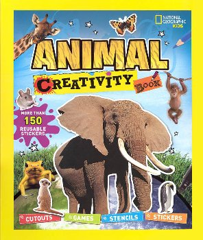 National Geographic Kids Animal Creativity Book