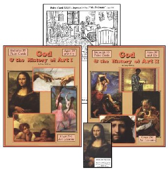 God and the History of Art 4-Year Curriculum Book with Paint and Marker Cards