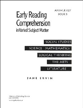 Early Reading Comprehension Bk B Teacher Key