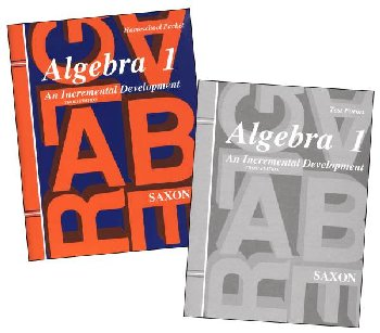 Saxon Algebra 1 Answer Keys and Tests 3ED