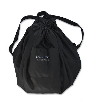 "Lay-N-Go Lifestyle (44"") Black (Blue Interior)"