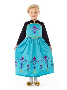 Ice Queen Coronation Dress - X-Large