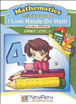 I Love Hands-On Math Reproducible Teacher Edition 4