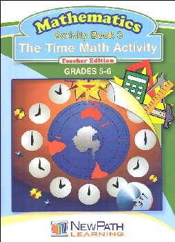 Time Math Activity Book 3 Teacher Edition