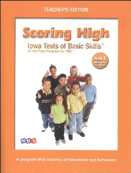 Scoring High ITBS Book 1 Teacher