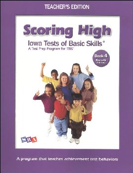 Scoring High ITBS Book 4 Teacher
