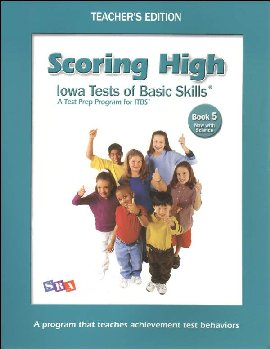 Scoring High ITBS Book 5 Teacher