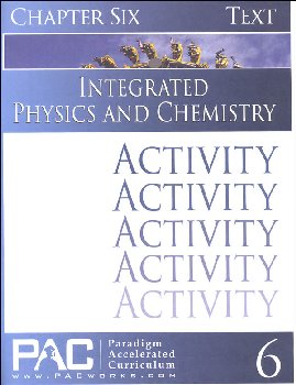 Integrated Physics and Chemistry Chapter 6 Activities